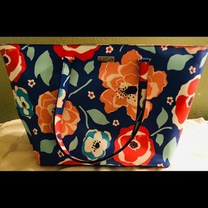 Kate Spade Floral Tote New